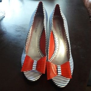 Ginni Bini 4th of July Pumps